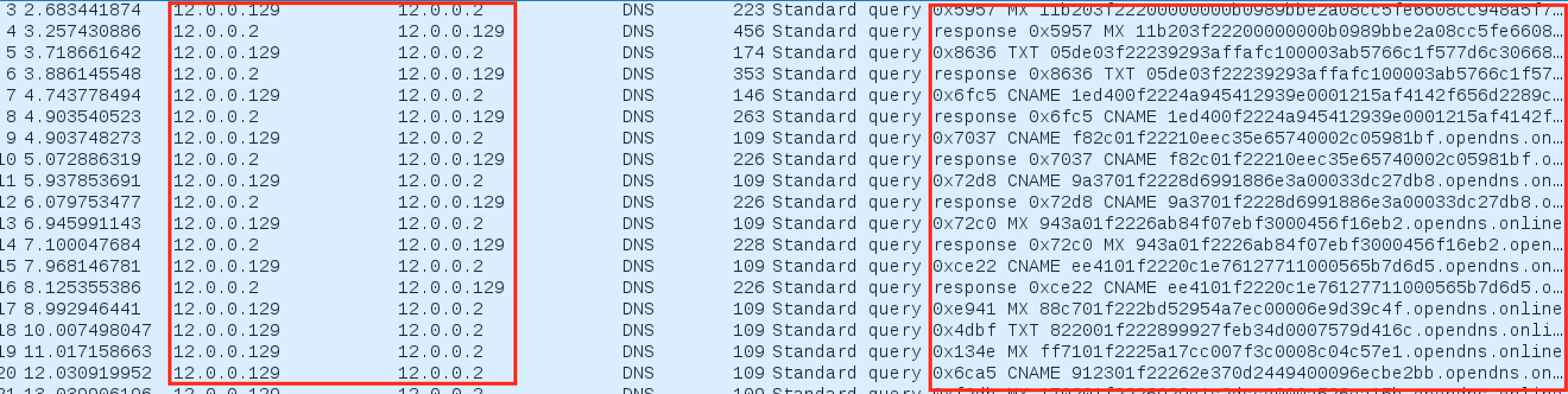 dnscat2-wireshark